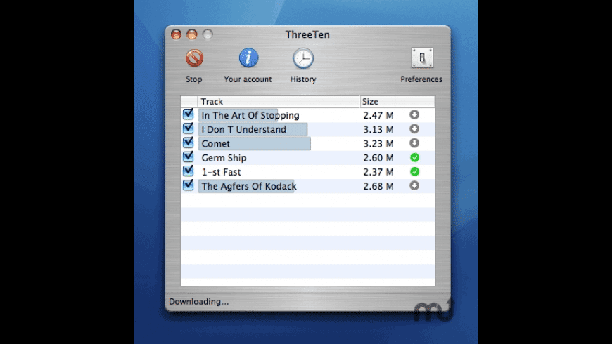ThreeTen for Mac - review, screenshots