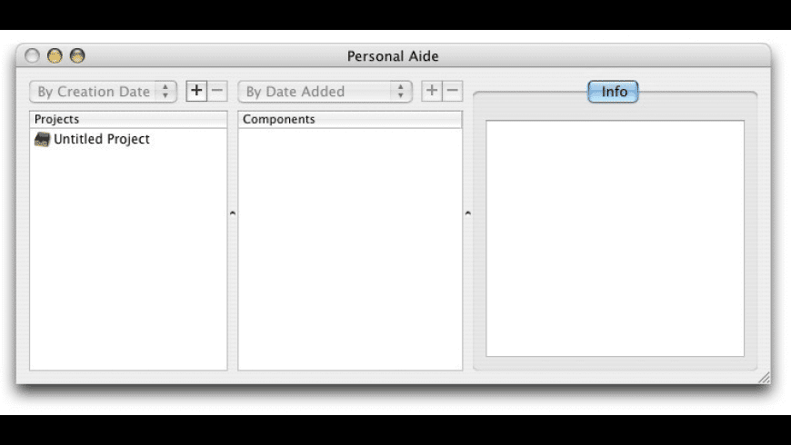 Personal Aide for Mac - review, screenshots