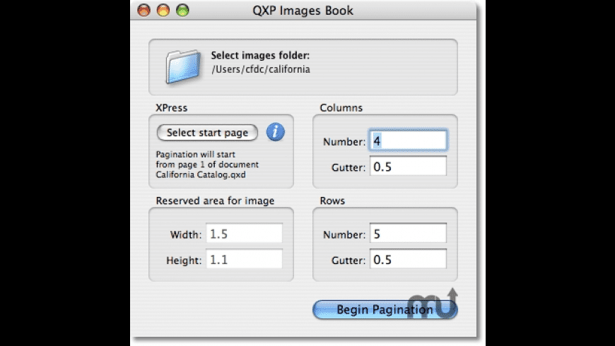 QXP Images Book for Mac - review, screenshots