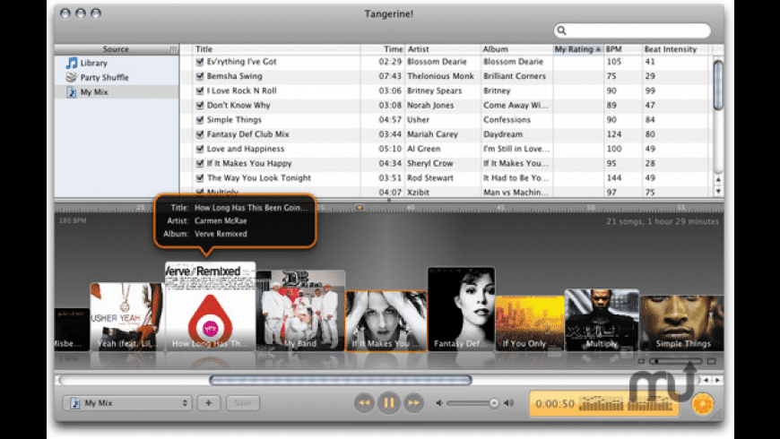 Tangerine! for Mac - review, screenshots