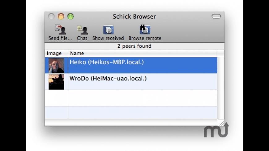 Schick for Mac - review, screenshots