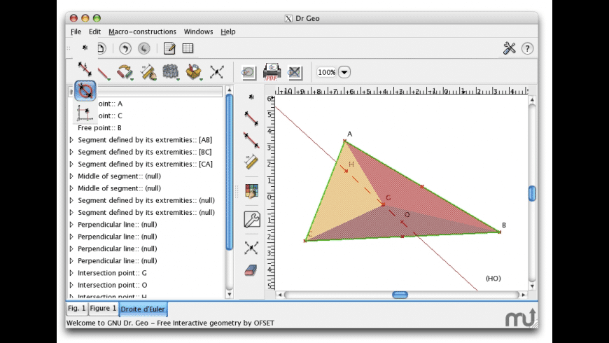 Dr Geo for Mac - review, screenshots