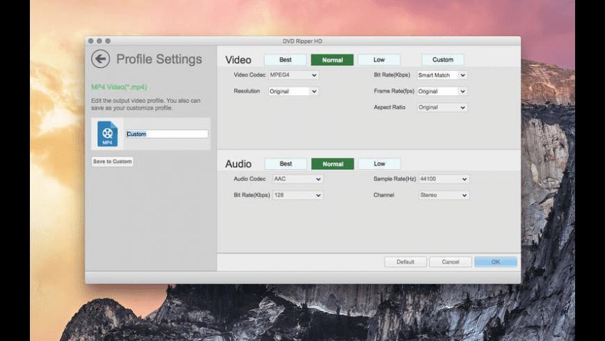 DVD Ripper HD for Mac - review, screenshots