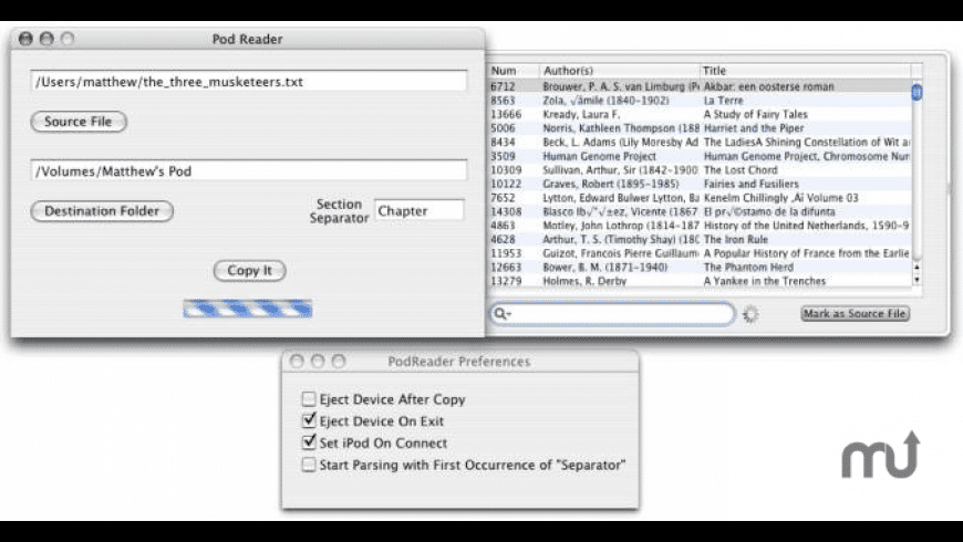 PodReader for Mac - review, screenshots