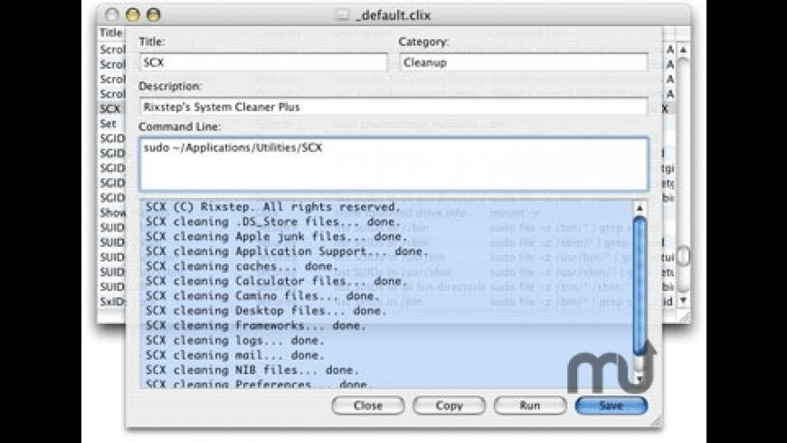 CLIX for Mac - review, screenshots