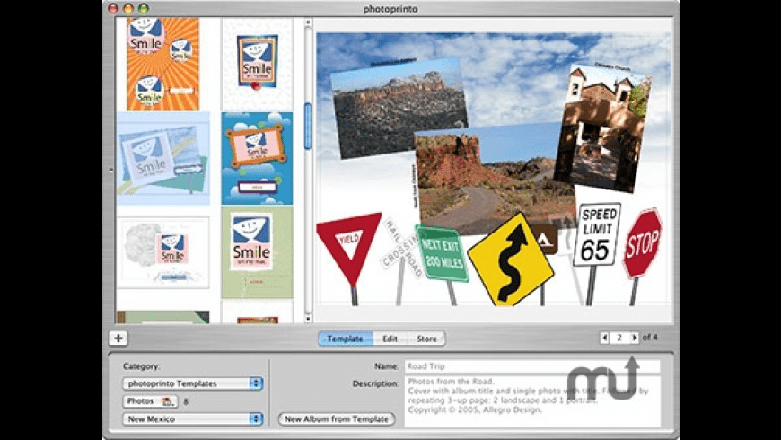 photoprinto for Mac - review, screenshots