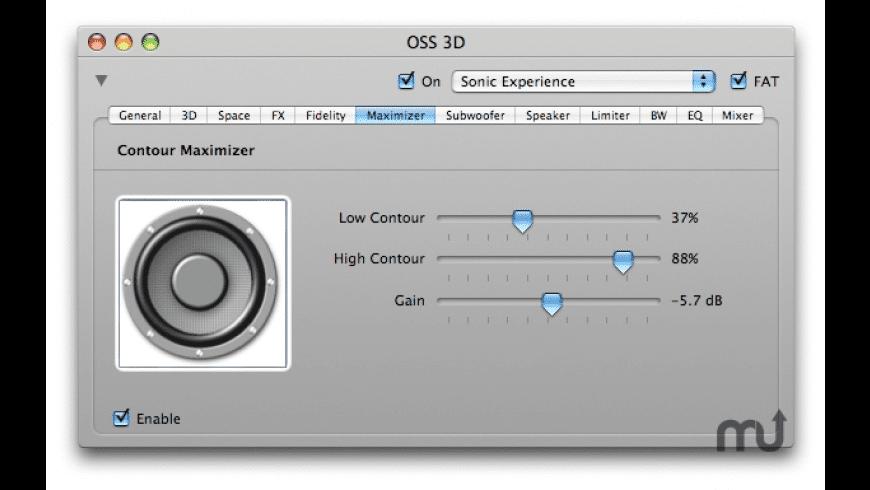 OSS 3D for Mac - review, screenshots