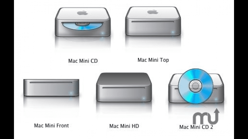 Mac Mini Icons Pack for Mac - review, screenshots