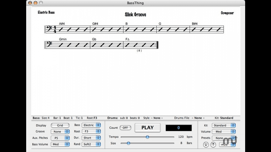 BassThing for Mac - review, screenshots