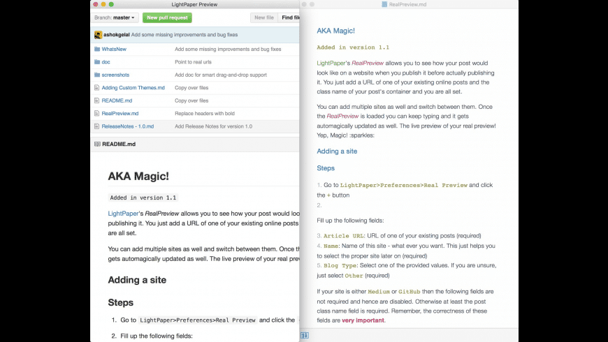 LightPaper for Mac - review, screenshots