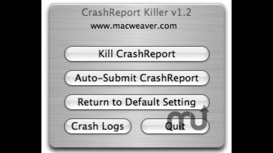 CrashReport Killer for Mac - review, screenshots
