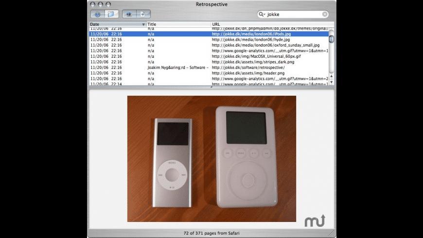 Retrospective for Mac - review, screenshots