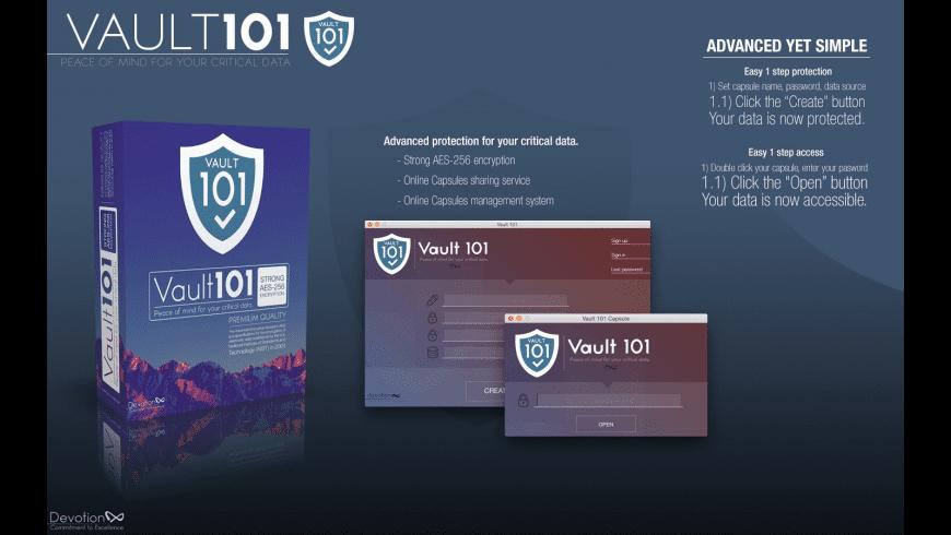 Vault 101 for Mac - review, screenshots