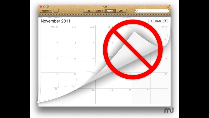 iCal Classic Page Flip for Mac - review, screenshots