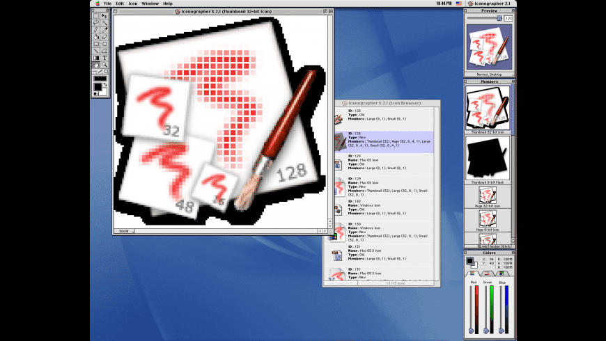 Reverse System Icons for Mac - review, screenshots