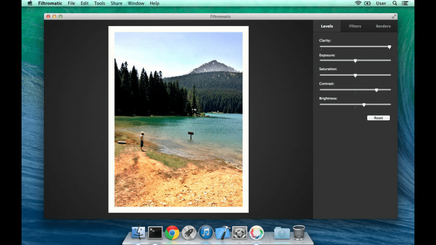 Filtromatic for Mac - review, screenshots