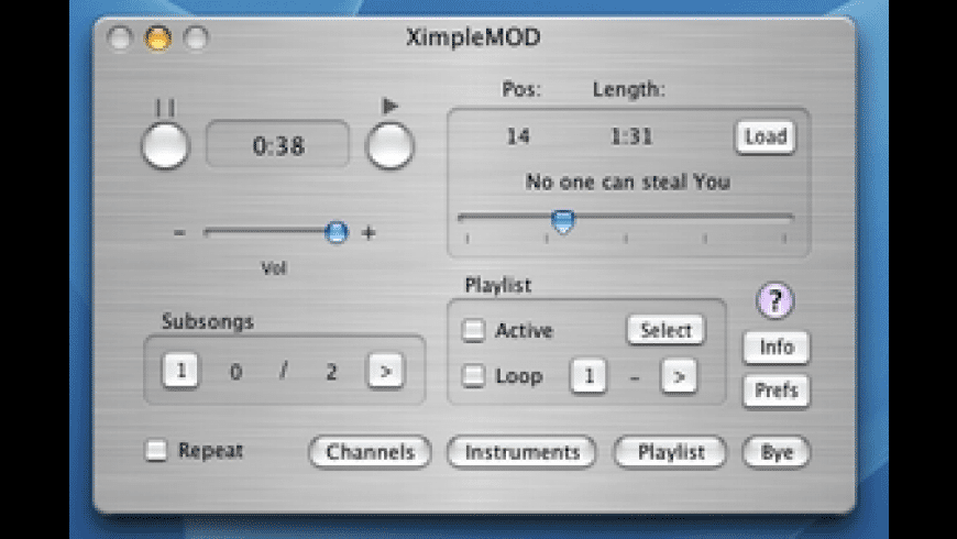 XimpleMOD for Mac - review, screenshots