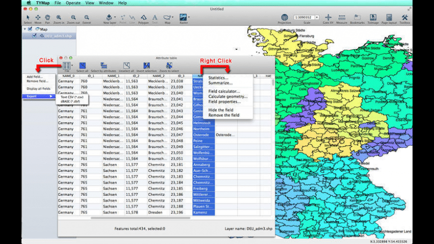 TYMap for Mac - review, screenshots