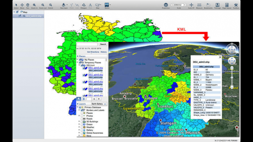 TYMap for Mac - review, screenshots