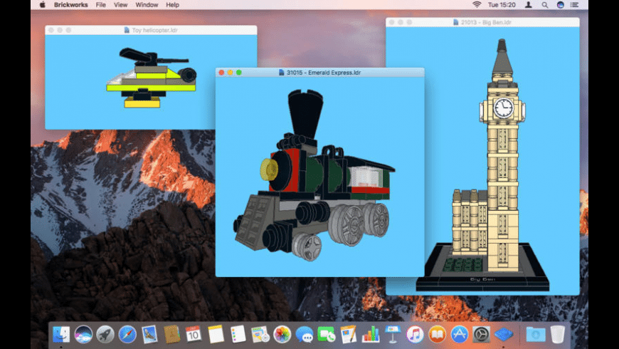 Brickworks for Mac - review, screenshots