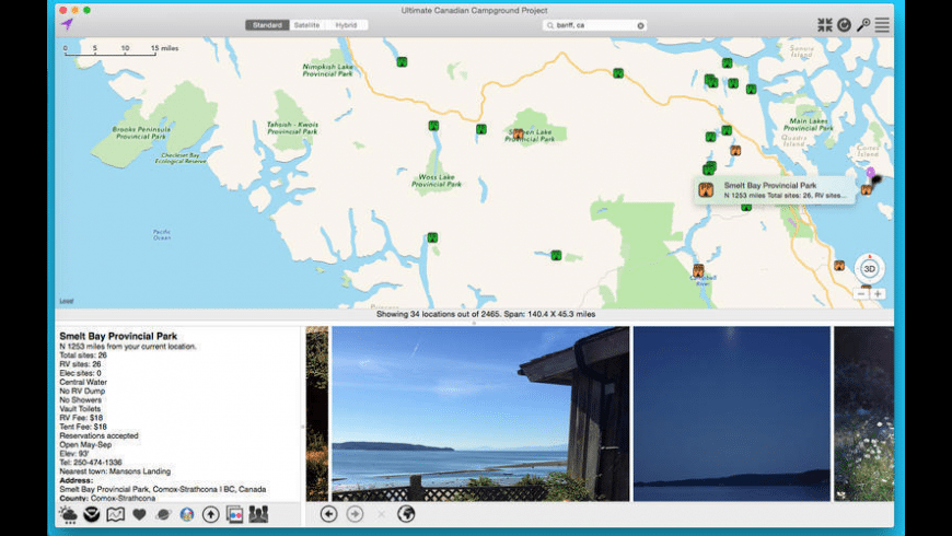 Ultimate Canadian Campground Project for Mac - review, screenshots