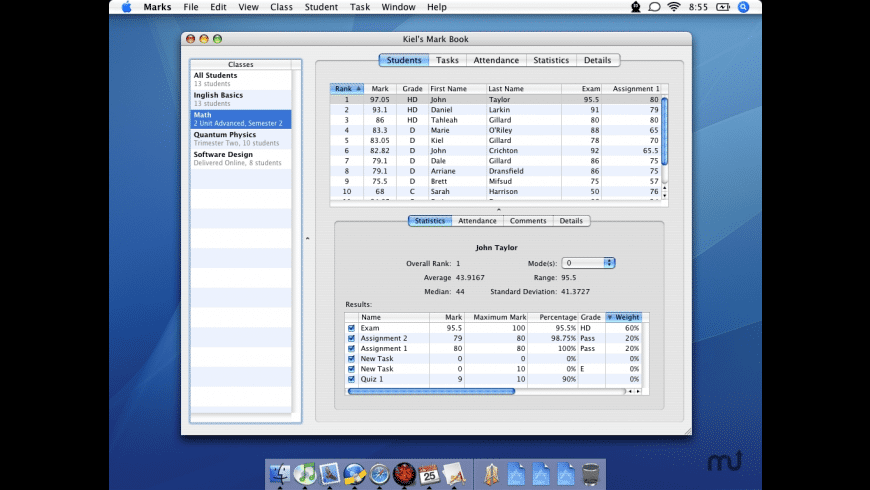 Marks for Mac - review, screenshots