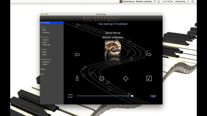 Whisperings for Mac - review, screenshots