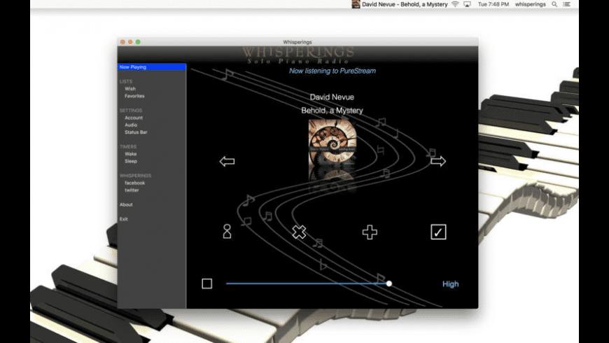Whisperings for Mac - review, screenshots