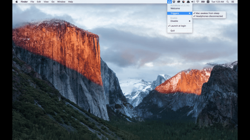 AutoMute for Mac - review, screenshots