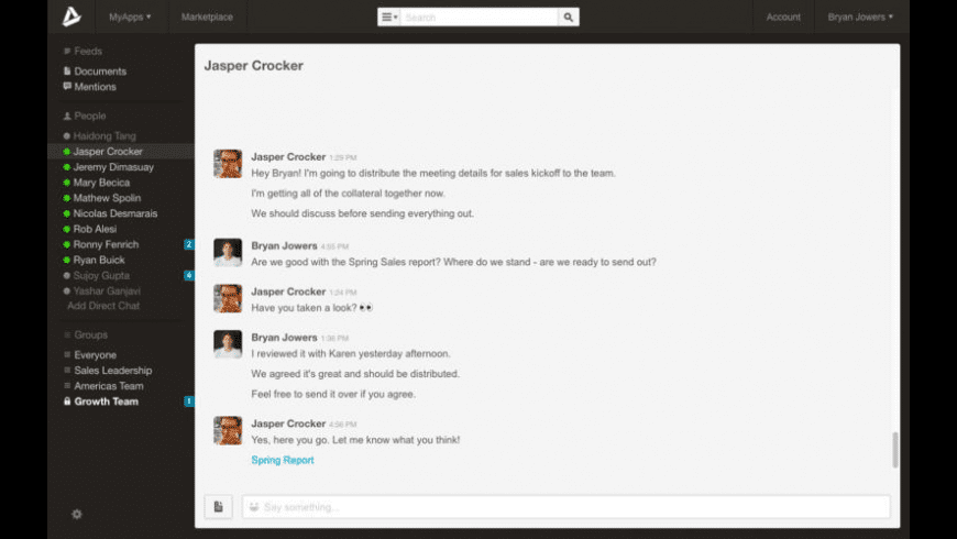 AppDirect Messenger for Mac - review, screenshots