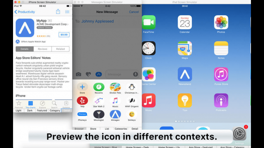 App Icon Tool for Mac - review, screenshots