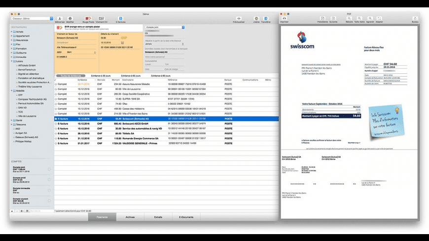 MacPay+ for Mac - review, screenshots