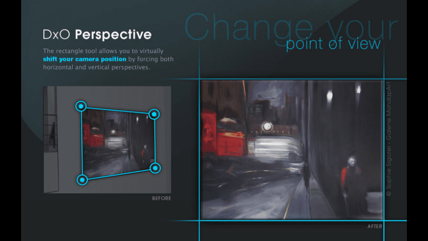DxO Perspective for Mac - review, screenshots