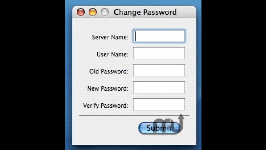 PasswordChanger for Mac - review, screenshots