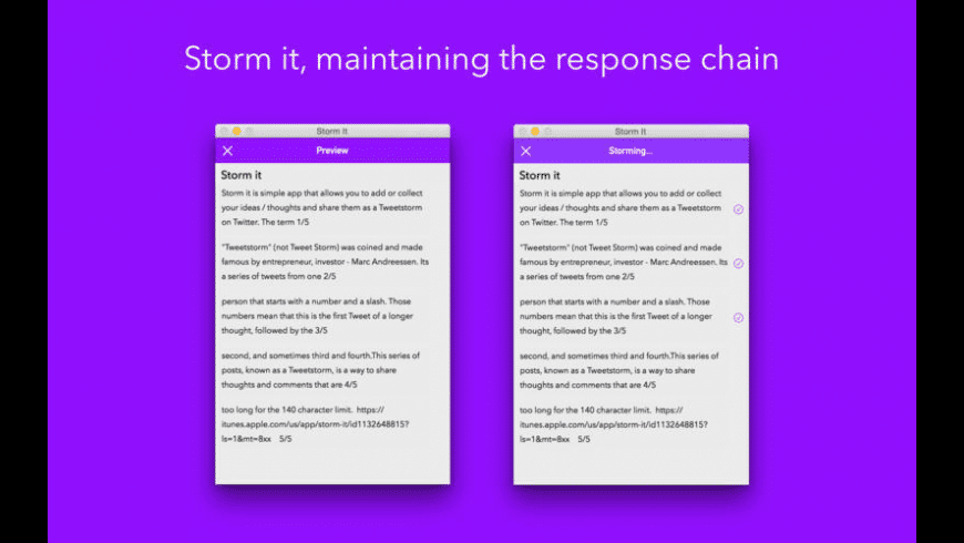 Storm It for Mac - review, screenshots
