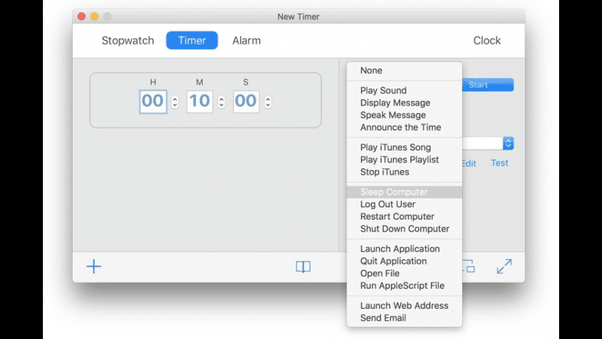 Apimac Timer for Mac - review, screenshots