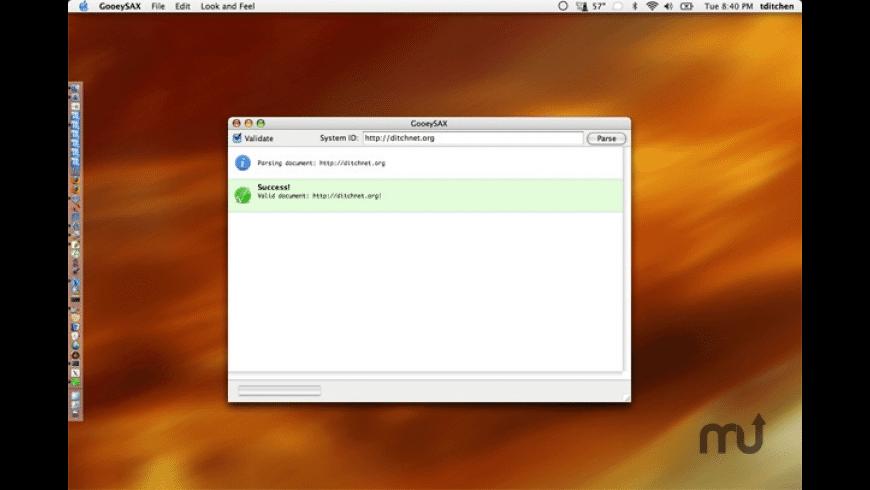 GooeySAX for Mac - review, screenshots