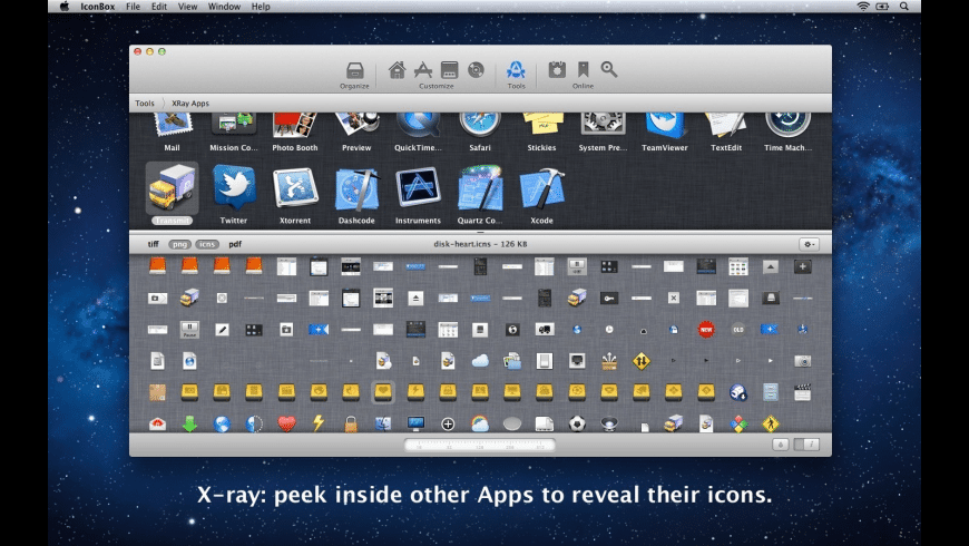 IconBox for Mac - review, screenshots