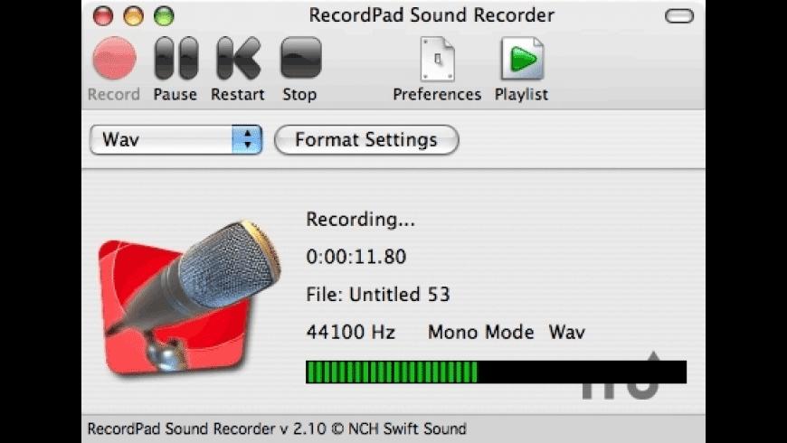 RecordPad for Mac - review, screenshots
