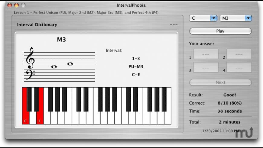 IntervalPhobia for Mac - review, screenshots
