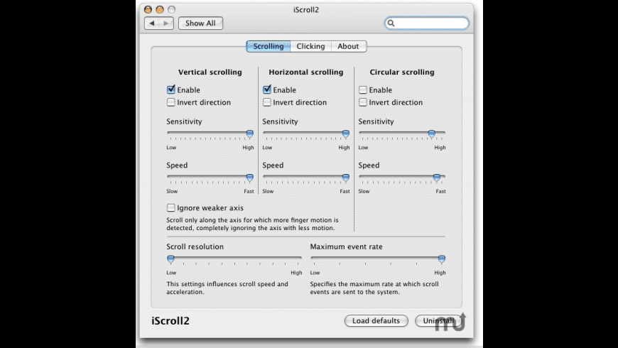 iScroll2 for Mac - review, screenshots