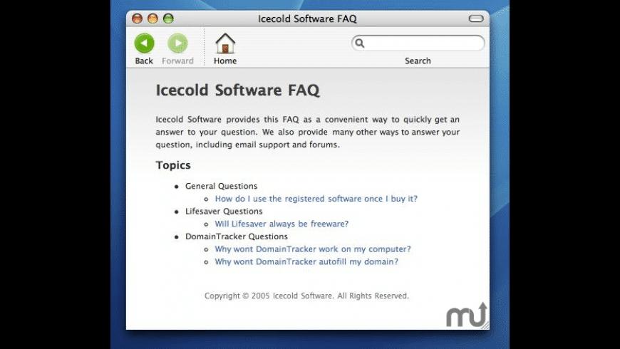 Lifesaver for Mac - review, screenshots