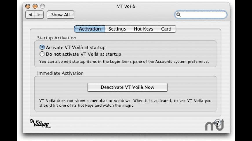 VTBook Drivers for Mac - review, screenshots