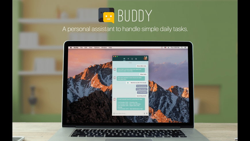 Buddy for Mac - review, screenshots