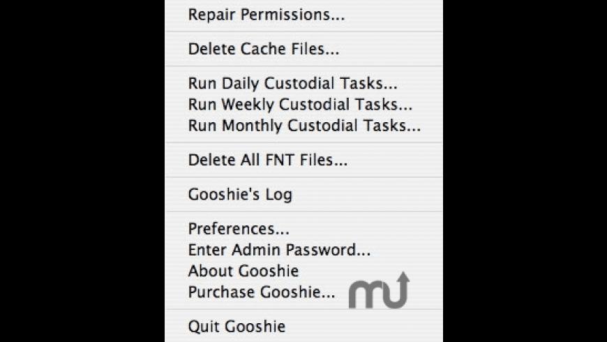 Gooshie for Mac - review, screenshots