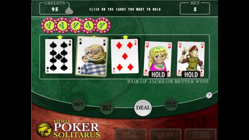 Video Poker Solitarus for Mac - review, screenshots