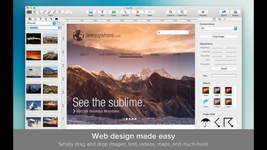 TurboWeb for Mac - review, screenshots