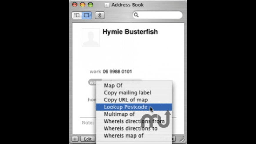 Lookup Postcode for Mac - review, screenshots