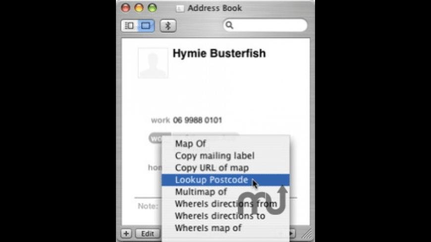 Lookup Postcode for Mac - review, screenshots