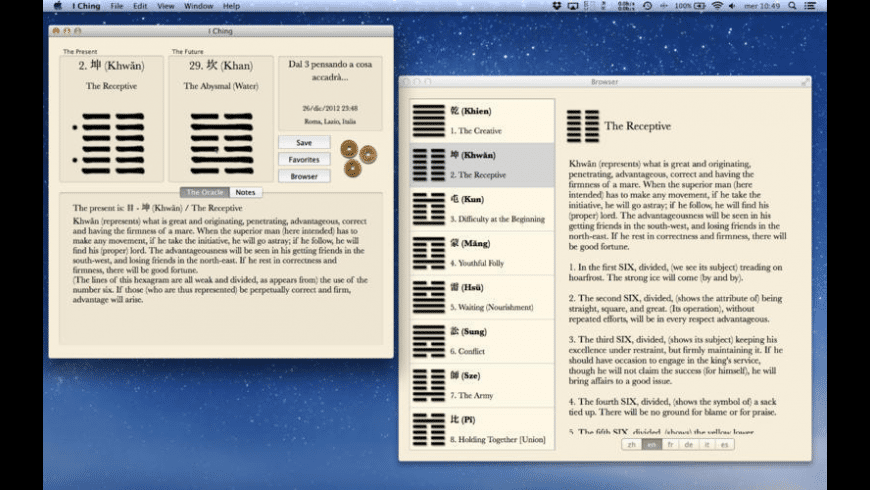 I Ching for Mac - review, screenshots